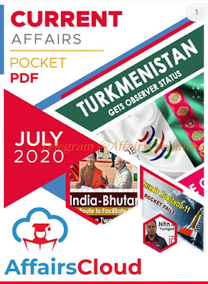 July 2020 Pocket PDF by Affairs Cloud Free download