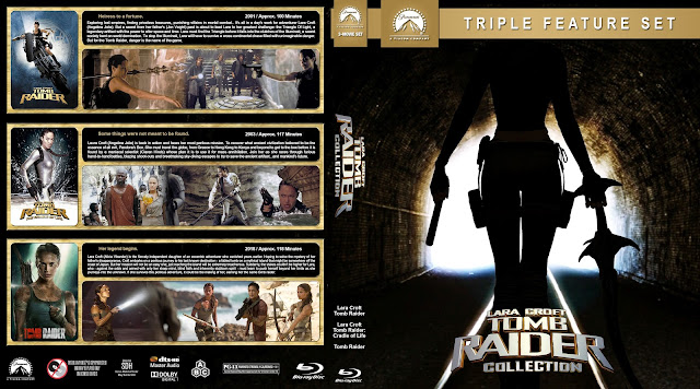 Tomb Raider Collection Bluray Cover