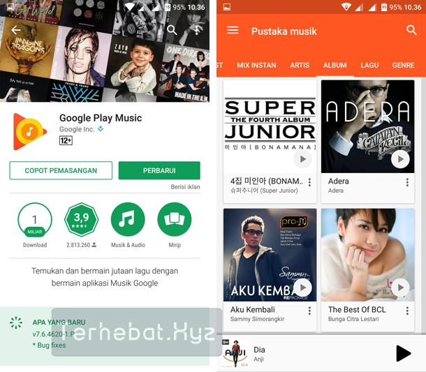 aplikasi musik yang terhubung dengan bbm android