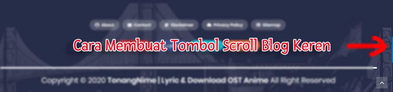 Dunia Tonang, Cara Membuat Tombol Scrollbar Blog Keren, TonangRGG, Tonang RGG