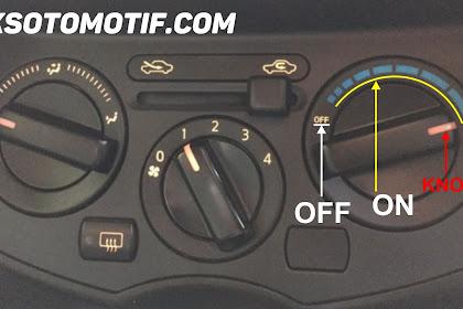 Khusus Pemula, Ini Dia Cara Mengoperasikan Tombol AC Mobil Jenis Manual