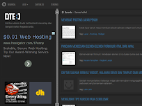 DTE Clone - Responsive Blogger Template