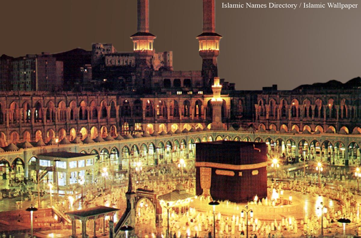 Wallpaper iphone kabah - Night Beautiful Makkah Kabah Wallpaper Photos