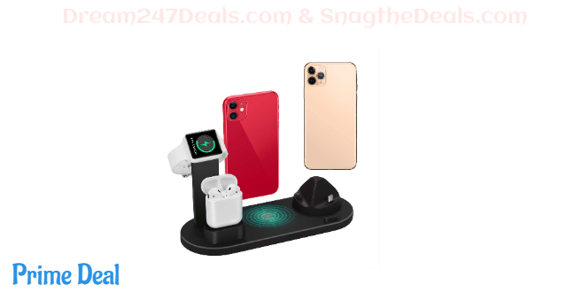 4 in 1 WirelessCharging Dock  50% OFF