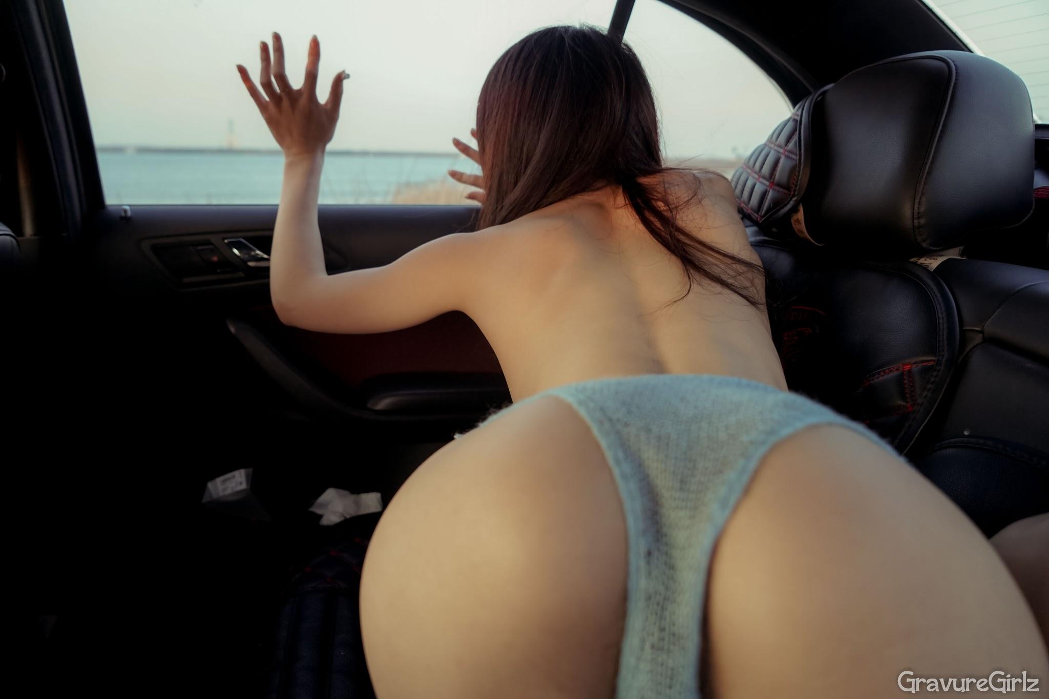 Shen Jiaxi 沈佳熹 Nude Sexy Time Inside Car (Original)