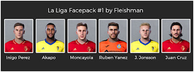 PES 2021 LaLiga Facepack #1 by Fleishman