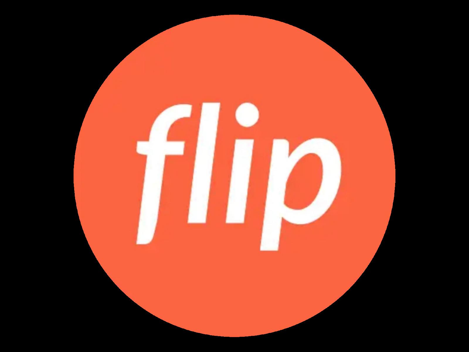 Logo Flip Format PNG