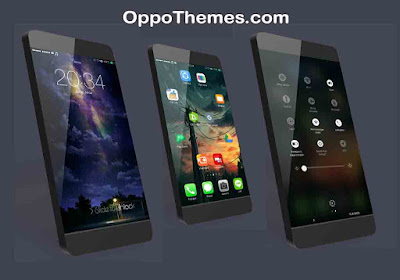 Black IOS Theme For Oppo Android Smartphones