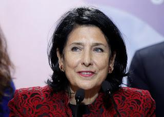 Salom Zurichishvili elected as first female President of Georgia
