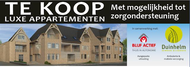 Luxe appartementen met zorgondersteuning Westkerke De Munt