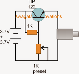 Simple Power Bank using two 3.7V Li-Ion Cells