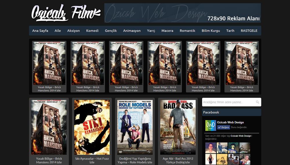 Blogger Ozicab Film Temasi V1
