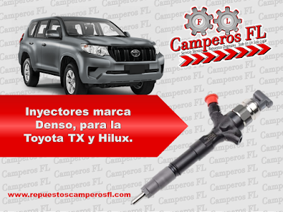 Inyectores Marca Denso Toyota