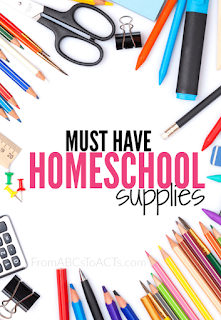 Homeschool Supplies - 6 Basic Things That Each Homeschool Ought to Have