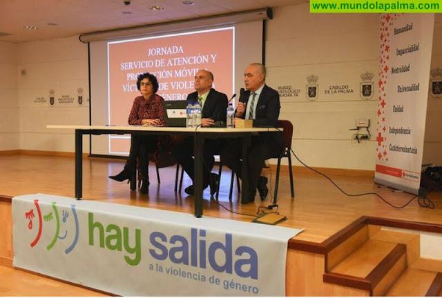 Cruz Roja realiza la I Jornada sobre el Servicio de Atención y Protección Móvil para Víctimas de Violencia de Género en La Palma