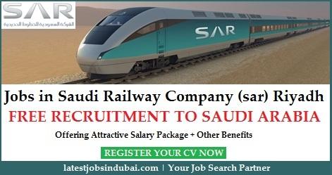 Saudi Railway Company (sar) jobs in Riyadh