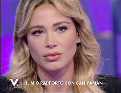 Diletta Leotta foto primo piano labbra viso Verissimo 25 settembre