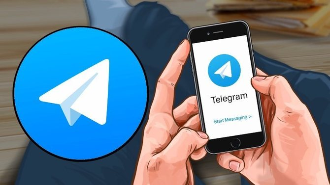 So you can have two Telegram accounts on a single mobile