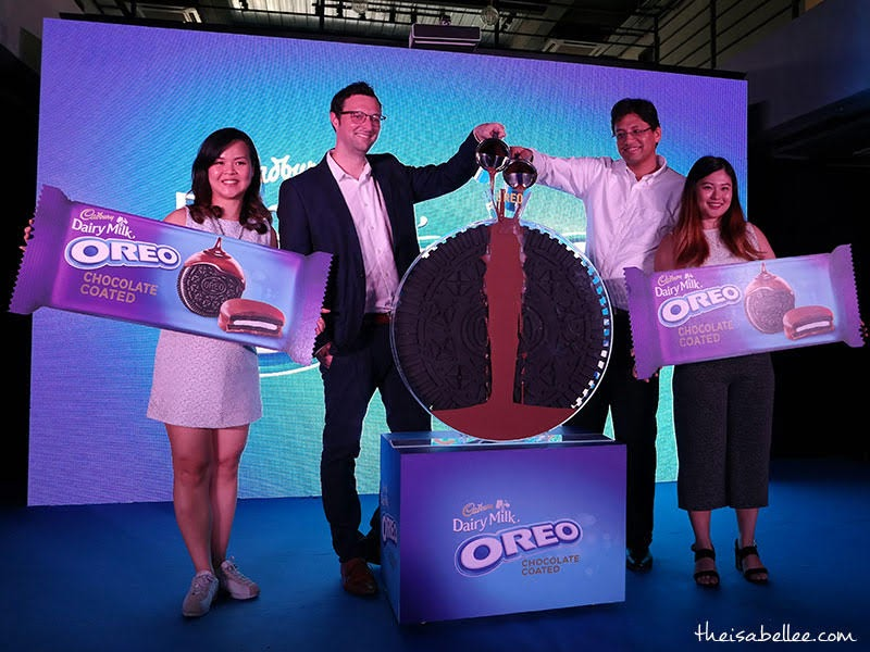 Oreo Chocolate Coated launch