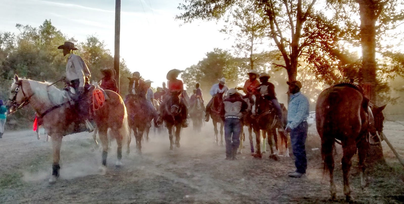Zydeco trail ride