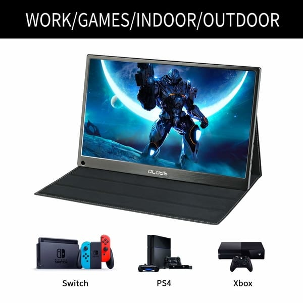 pldds Full HD IPS Portable Gaming Monitor
