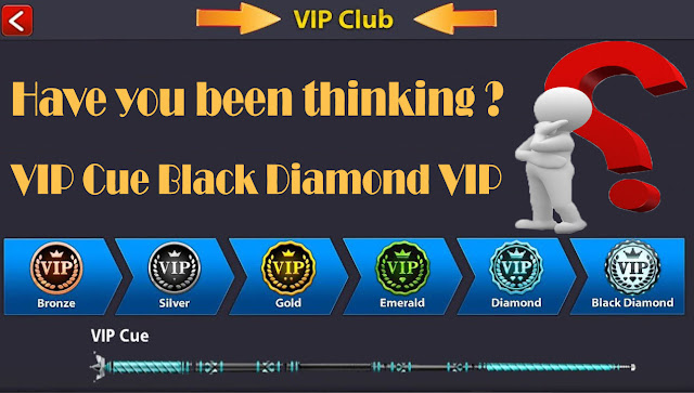This is what miniclip will do for people who have made VIP Cue Black Diamond VIP