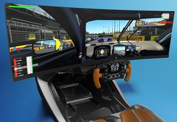 AMR-C01 Simulador Aston Martin