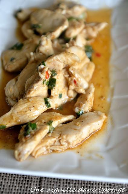 Poulet sauté aux graines de sésame Ken Hom cuisine chinoise