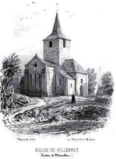 PatrimPatrimoine de l'Allier: église de Villebretoine de l'Allier: