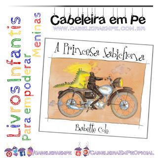 A Princesa Sabichona - Babette Cole (Antiprincesa - livro infantil)