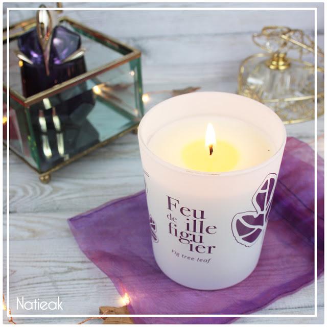 Bougies Parfumées feuille de figuier de Les envies de Lucienne