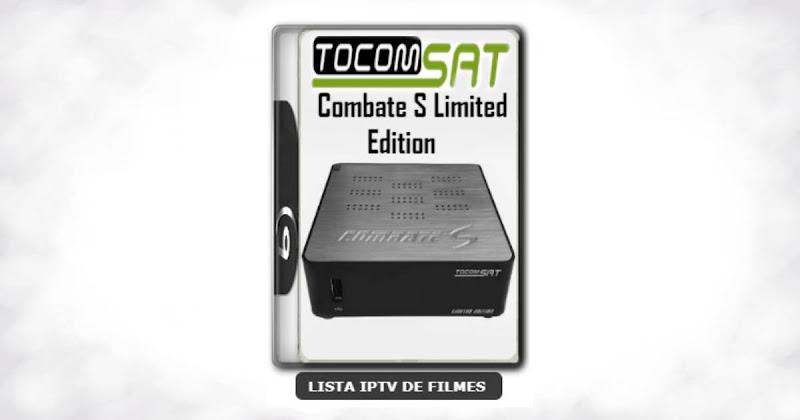 Tocomsat Combate S Limited Edition Nova Atualização Satélite SKS 107.3w ON V1.054