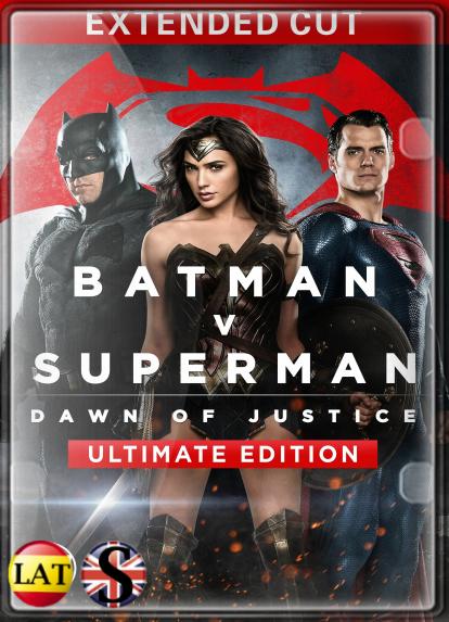 Batman vs Superman: El Origen de la Justicia (2016) EXTENDED HD 720P LATINO/INGLES