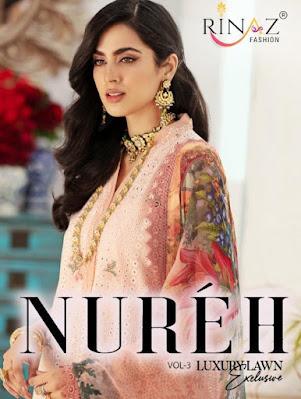 Rinaz Fashion Nureh vol 3 Pakistani Suits