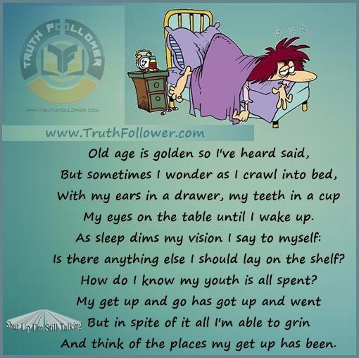 Old Age Poem 34