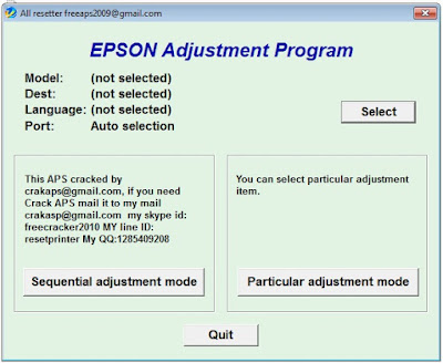 Epson L120 Adjustment Program | Software, Driver and Printer Resetter