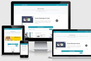 Safelink Bootstrap 2 New Version Template Blogger - Responsive