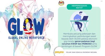 Permohonan Program GLOW 2020 PENJANA (Global Online Workforce)