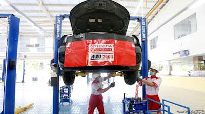 Yuk Cari Tahu Keuntungan Service Toyota Di Bengkel Resminya