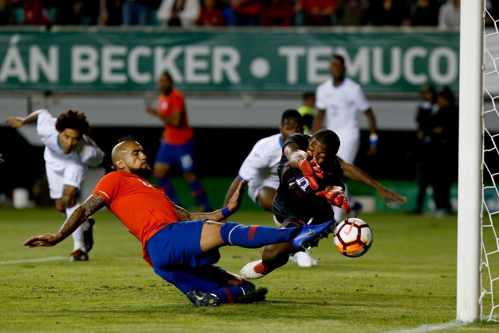 Chile y Honduras en partido amistoso, 20 de noviembre de 2018