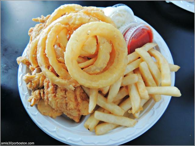 Belle Isle Lobster & Seafood: Bandeja de Marisco