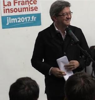 Jean-Luc Mélenchon au Mans dans - ECLAIRAGE - REFLEXION