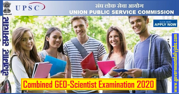 UPSC Combined GEO-Scientist Examination