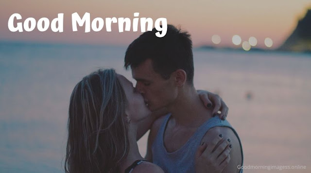 good morning love kiss wallpaper download