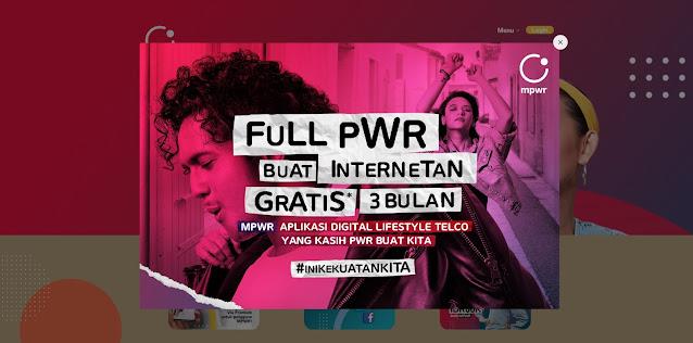 Cara Mendapatkan Kartu MPWR Indosat dan Klaim Internet Gratis 3 Bulan