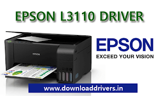 Download Epson L3110 driver, printer, Scanner, Utility, software, Windows