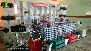 Decoração festa de aniversário tema Boteco - Botequim