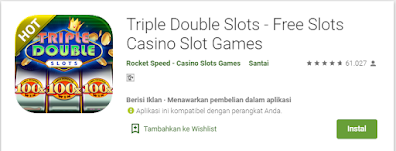 Triple Double Slots - Game Slot Android #1