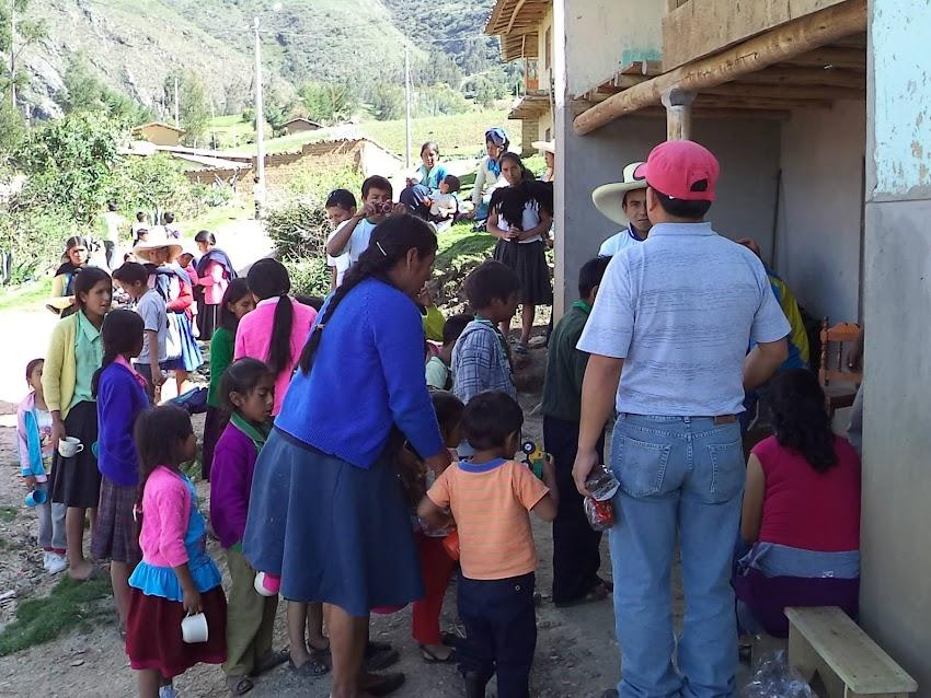 Caserío de Ayangay - Distrito de Condebamba
