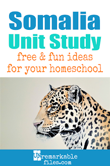 This Somalia unit study is packed with activities, crafts, book lists, and recipes for kids of all ages! Make learning about Somalia in your homeschool even more fun with these free ideas and resources. #Somalia #homeschool